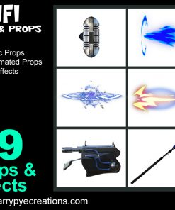 FX Pack - SciFi Guns & Props